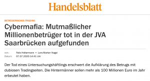 EFRI Interview for Handelsblatt