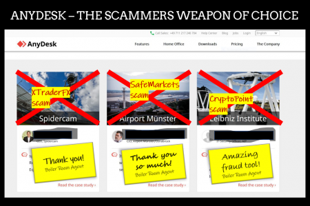AnyDesk produces terribly effective scammer weapon