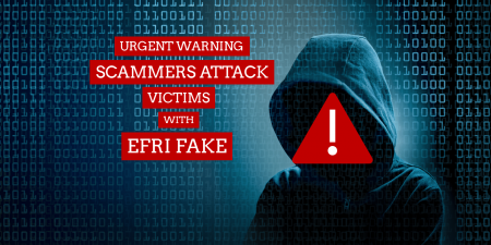 EFRI Fake Warning