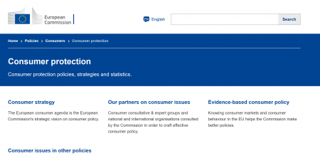 EU-commission, Consumer protection