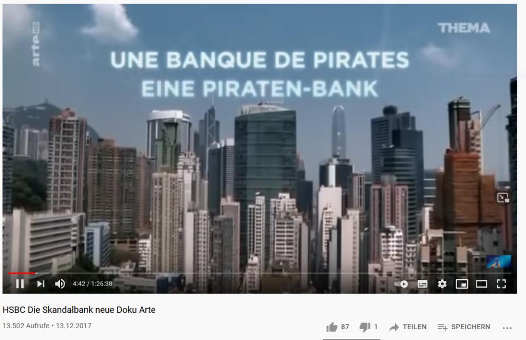 HSBC Die Skandalbank ARTE